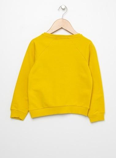 Limon Company Limon Baskılı Safran  Sweatshirt Kırmızı